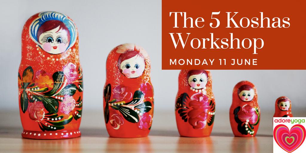 5 Koshas workshop russian dolls