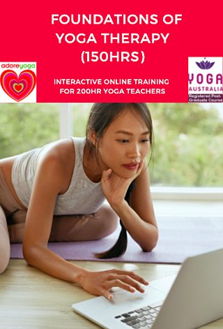 Foundations of Yoga Therapy online teacher training