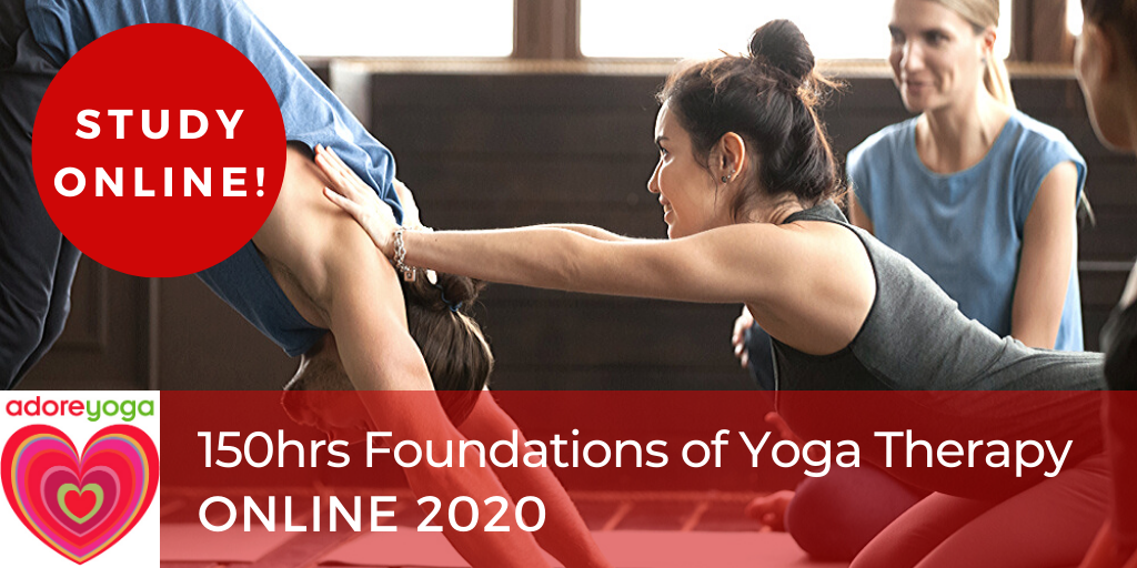 Online Yoga Therapy Foundations 150hrs