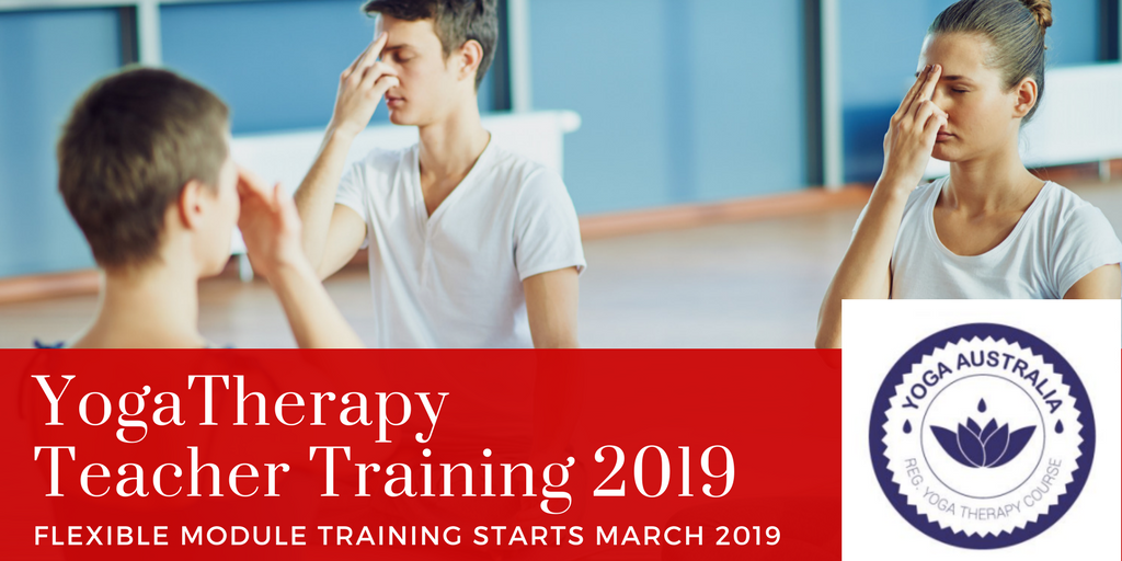 Yoga Therapy Teacher Training 2019 Nadi shodana image
