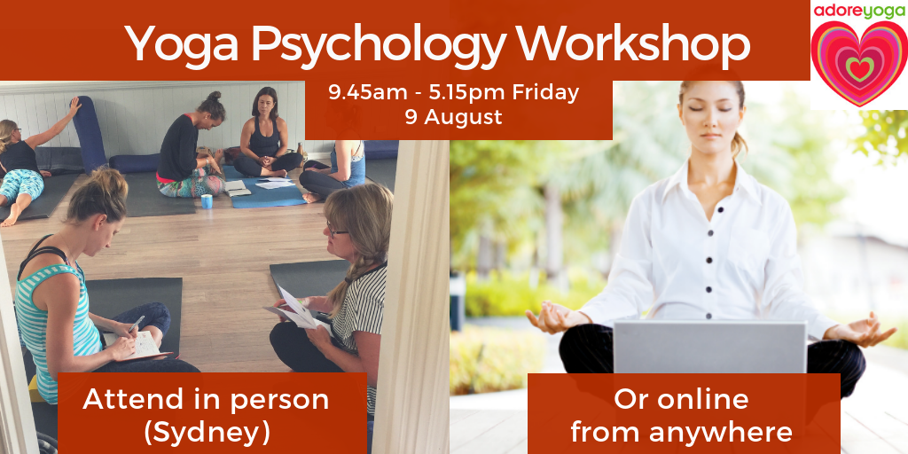 yoga psychology workshop